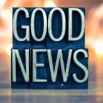 good news 3d text block