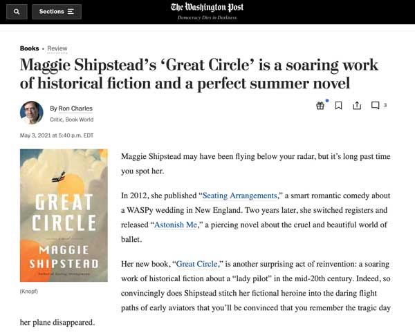great circle book review article