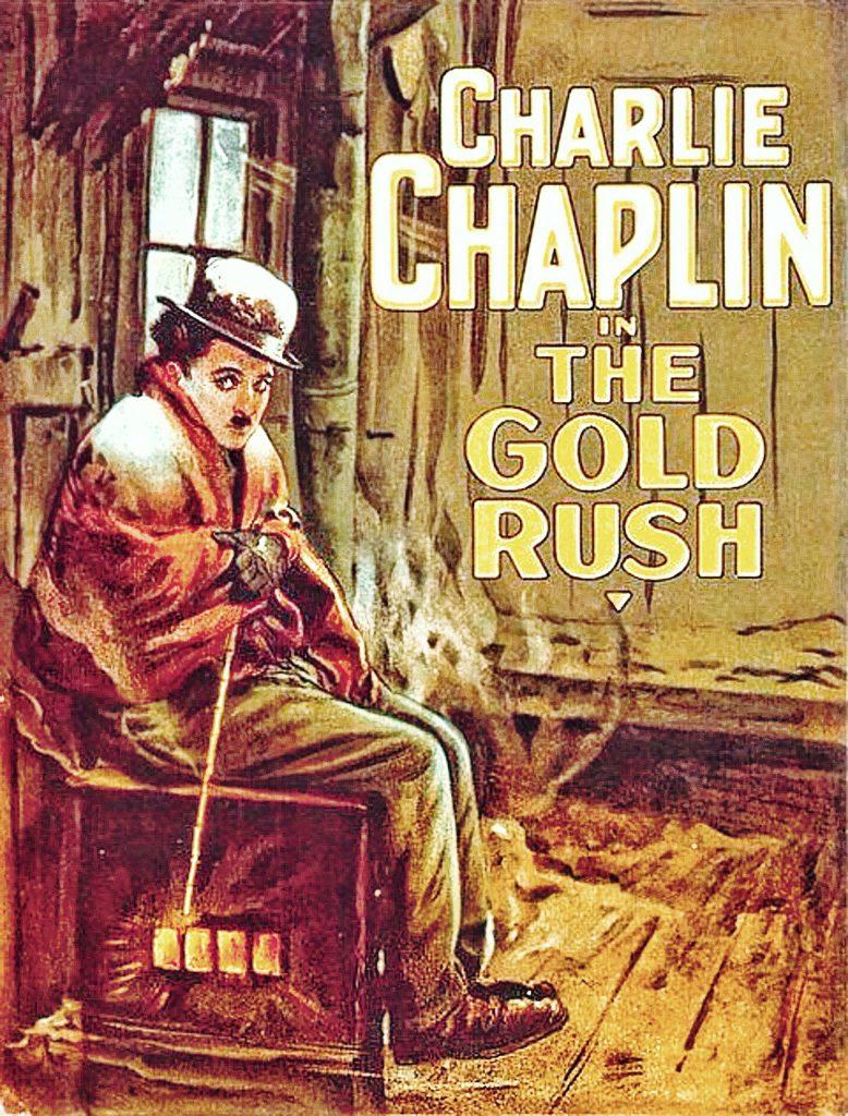 gold rush movie poster