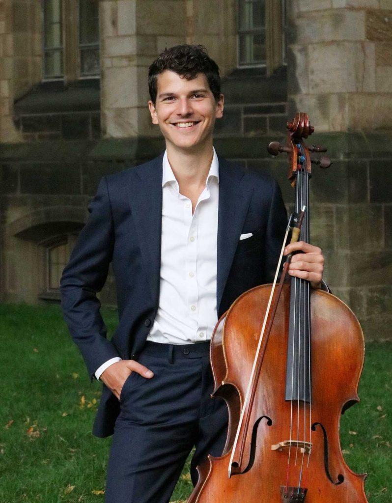 samuel walter with cello